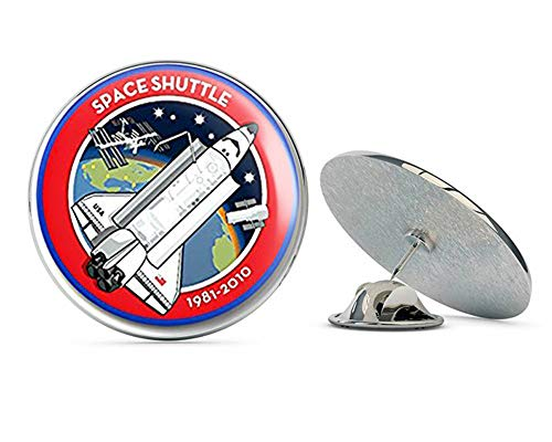 NYC Jewelers Round Space Shuttle 1981-2010 Logo (NASA Seal Mission) Metal 0.75