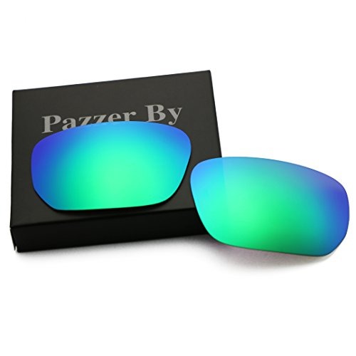 Polarized Replacement Lenses for Oakley Style Switch - Green Mirrored - Oakley Style Polarized Replacement Lenses Switch