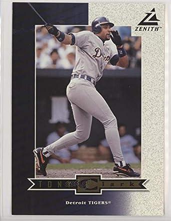 Amazoncom Tony Clark Baseball Card 1998 Pinnacle Zenith 5x7