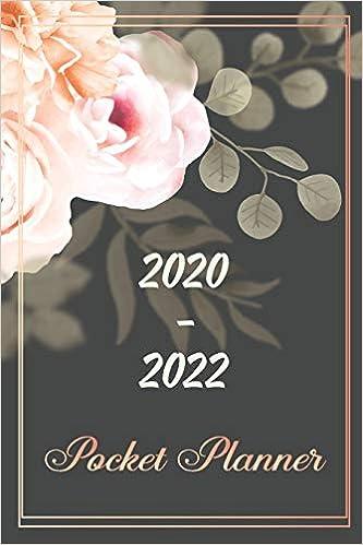 Amazon.com: 2020-2022 Pocket Planner: Pretty Sakura Floral ...