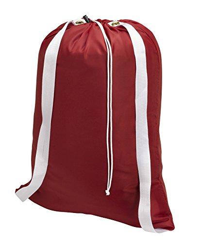 Backpack Laundry Bag Red drawstring