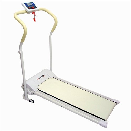 Confidence Tech Power Motorized Electric Treadmill Model 1 White - Folding Design for Easy Storage at Home