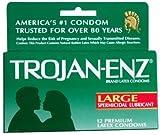 Trojan ENZ Spermicidal Lubricated Condoms 12-Pack, Health Care Stuffs