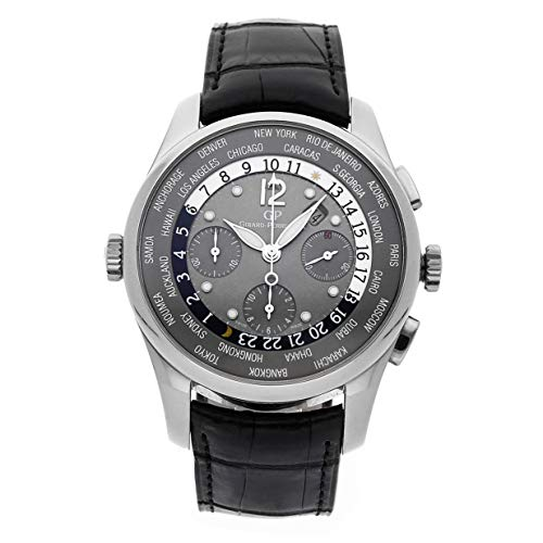 Girard-Perregaux WW.TC Mechanical (Automatic) Grey Dial Mens Watch 49805-53-252-BA6A (Certified Pre-Owned)