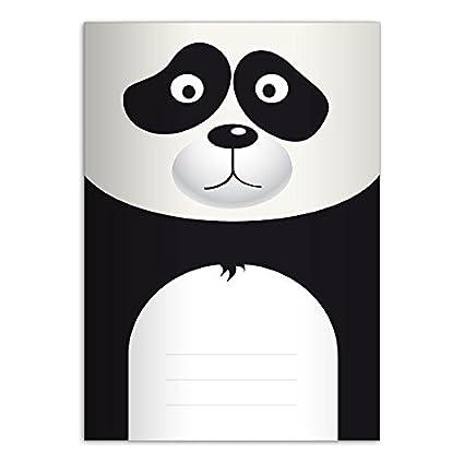 1 Mignon Cahier Dessin Petit Panda A4 297x21 32p