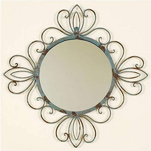Ashton Sutton 10F1832 Wall Mirror with Metal Frame
