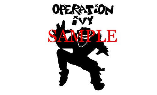 WHITE OPERATION IVY BAND DECAL LOGO WINDOW NEW STICKER