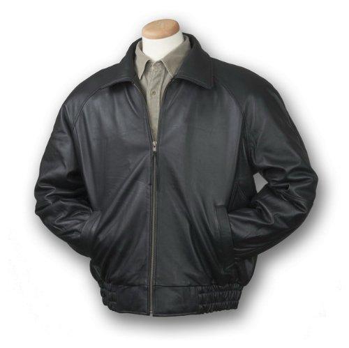 Burk's Bay® Lamb Classic Jacket, BLACK, 2XL