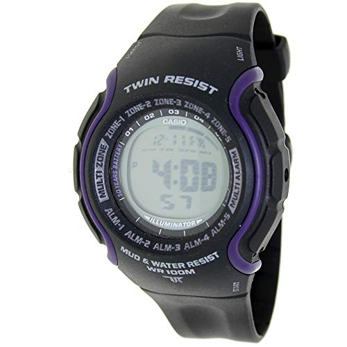 CASIO TRT-101H-1A - Reloj digital Twin Resist - 5 Alarmas ...