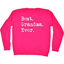 123t Best Grandma Ever - SWEATSHIRT