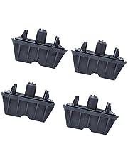 perfk Förpackning med 4 OEM # 51717237195 biluttag uttag uttag stöd för BMW E82 E90 E91 F10 X1 E84 2009-up