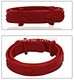 Fundodo Mite Puce Tique Flea Pet Collar Cat Protection Neck Ring Tick Mite Louse Remedy Coleira Para Gato For
