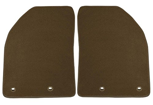 Coverking Front Custom Fit Floor Mats for Select Jaguar XK Series Models - 40 Oz Carpet (Beige) by Coverking