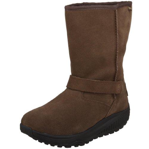 Skechers Womens Shape Ups XF Bollard Boot,Chocolate,11 M US