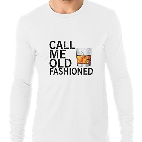 Call Me Old fashioned - Scotch Whiskey Glass Drink Men's Long Sleeve - Scotch Whiskey Drink
