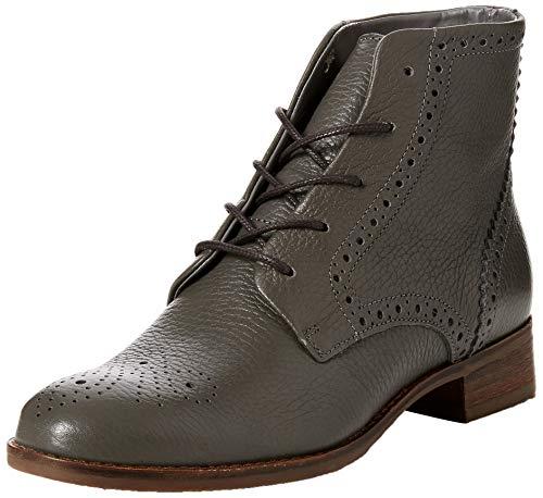 Freya Botines Netley Clarks Leather grey Femme Gris 5xE5wrS