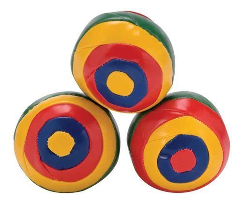 Schylling - Striped Juggling Balls by SCHYLLING ASSOCIATES INC.