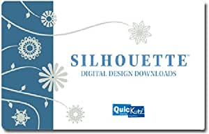 We R Memory Keepers SILH-25DNLD Digital Content Silhouette Prepaid Download Card