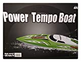 UDI RC Tempo 2.4GHz High Speed Remote Control 17 Electric Boat (Blue)