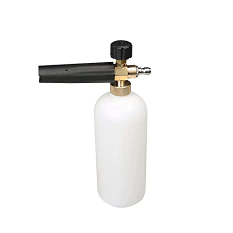Automotive Car & Motorbike Care MATCC Adjustable Foam Cannon 1 Liter Bottle Snow Foam Lance With 1/4 Quick Connector Foam Blaster for Pressure Washer Gun-FREE 12 Month Warranty