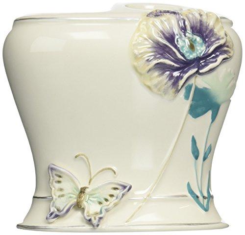 Creative Bath Garden Gate Ceramic Tooth Brush Holder, Lilac from Creative Bath