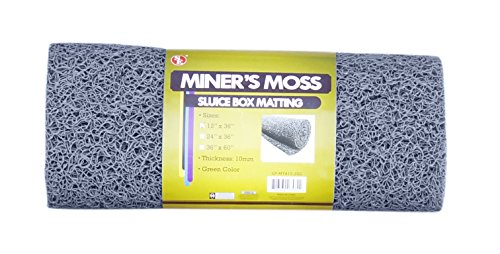 12 Quot X 36 Quot Miners Moss For Gold Sluice Box Matting 10mm