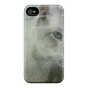 Durable Case For The Iphone 4/4s- Eco-friendly Retail Packaging(ugly Face)