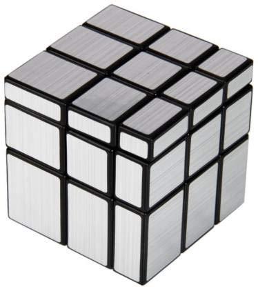 KUSHMA Toys Silver Mirror Magic Twist Cube 3x3  1 Pieces
