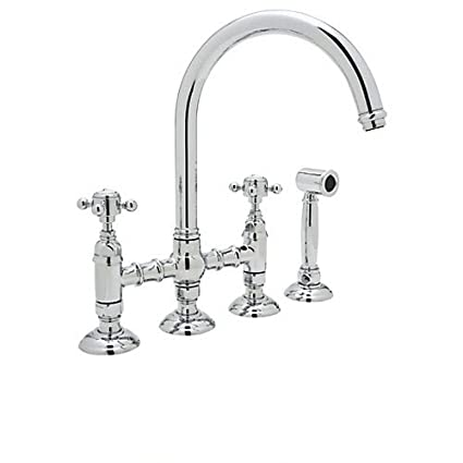 rohl a1461xmwsapc 2 a1461xmws 2 country kitchen high arc bridge rh amazon com rohl country kitchen faucet replacement parts country kitchen faucet styles