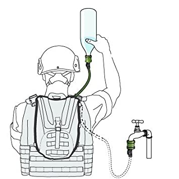 Source FILBE WLPS Low Profile Hydration System 3 L