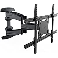 FLEXIMOUNTS A14 Full motion Swivel Tilt TV Wall Mount Bracket for Most 32-65 HD 4K LED LCD Screens