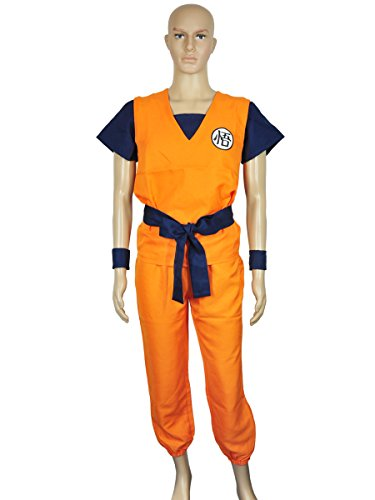Dragon Ball Sun Goku Christmas Cosplay Costume for Adult