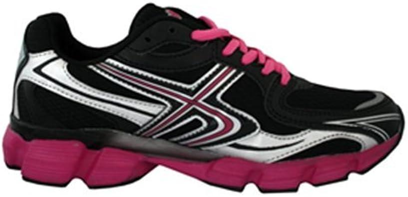 Kripton Motion, Zapatillas de Running para Mujer, Negro/Fucsia, 35 EU: Amazon.es: Zapatos y complementos
