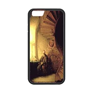 IPhone 6 Cases Old Man, Cheap Iphone 6 Cases for Girls - [Black] Okaycosama