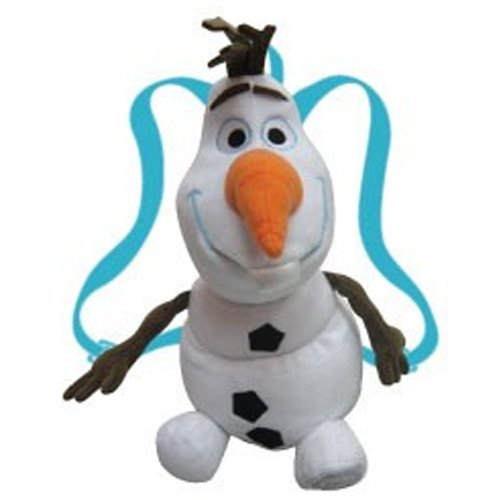 Master Toys Disney Frozen Olaf the Snowman with Blue Shoulder Straps Plush Backpack ()