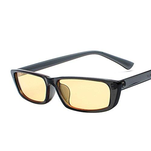 le visage rond korean personnalité star des lunettes des lunettes de soleil de marée des lunettes de soleil mesdames les yeux nouveau cycletransparent noir (tissu) Lyz20Hjhin