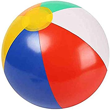 Amazon.com: Yoreeto - Pelota de playa inflable de 11.8 in ...