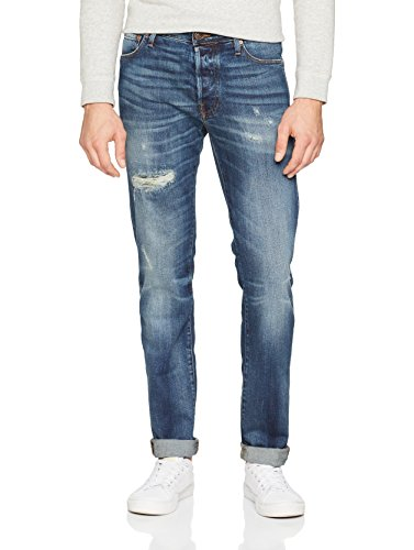 Blue blue Jack Denim Denim amp; Blu Uomo Jones Jeans Slim Y8qgwSY