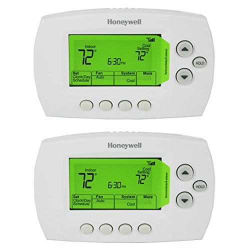 Honeywell RTH6580WF1001/W White 7 Day Programmable Wi-Fi Thermostat (Pack of 2) (Wi Fi 7 Day Programmable Thermostat Rth6580wf)