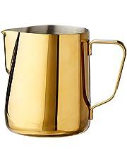Rhino Coffee Gear Pro Milk Pitcher Pro Milk Pitcher, 360ml, Gold, RHGLD12OZ