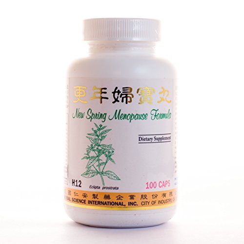 New Spring Menopause Formula Dietary Supplement 500mg 100 capsules (Geng Nian Fu Bao Wan) H12 100% Natural Herbs