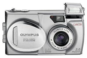 Olympus Camedia D-550 3MP Digital Camera w/ 2.8x Optical Zoom
