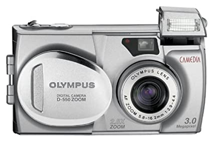amazon com olympus camedia d 550 3mp digital camera w 2 8x optical rh amazon com olympus d-550 zoom manual Kodak 3X Optical Zoom Manual
