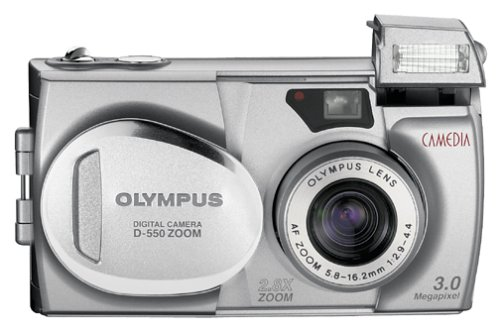 - Olympus Camedia D-550 3MP Digital Camera w/2.8x Optical Zoom