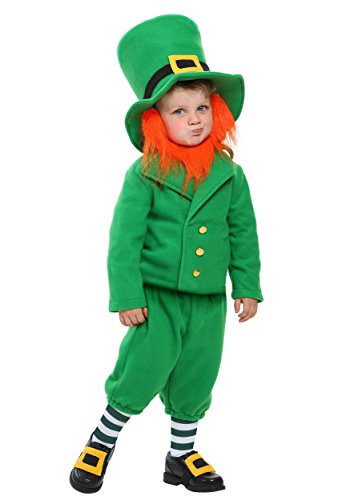 Fun Costumes Wee Little Leprechaun Costume 2t (Toddler Leprechaun Costume Boy)