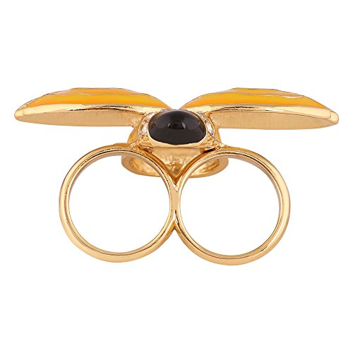 shaze Gold Plated Bee Ring for Women|Mothers Day Gifts |Gift for Mother by shaze