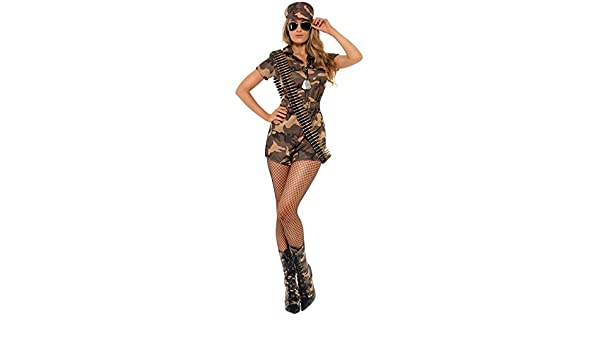 DISBACANAL Disfraz Militar Sexy Mujer - -, M: Amazon.es: Juguetes ...