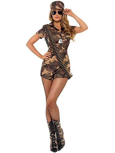 DISBACANAL Disfraz Militar Sexy Mujer - Único, S: Amazon.es ...