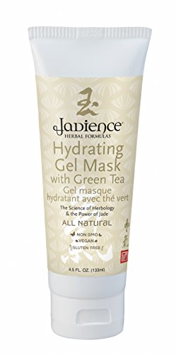 Jadience-Hydrating-Skin-Mask-wGreen-Tea-Hyaluronic-Acid-Vitamin-C-45oz-Anti-Aging-Mask-for-Dry-Skin-Blemishes-Wrinkles-Lines-Most-Popular-Skin-Hydrating-Mask-for-Women-Men-Over-25