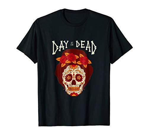 Sugar Skull Costume Idea Shirt